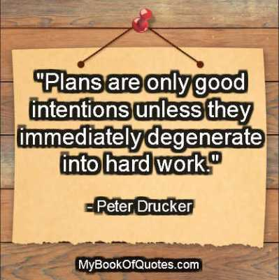 quotations on planning of business