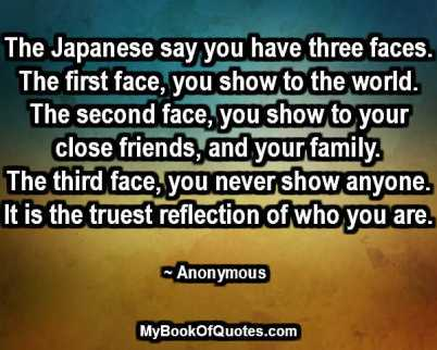 Image result for japanese 3 faces