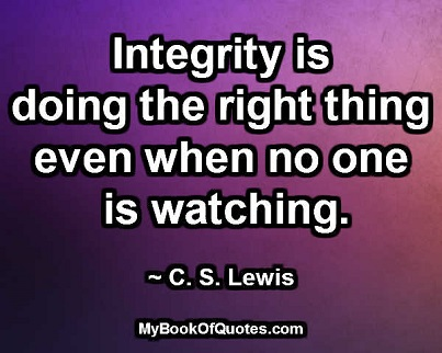 Image result for integrity