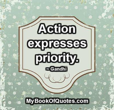 Priorities Quotes