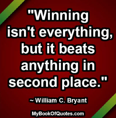 winning isnt everything Winning isn't everything winning is hard work and determination winning is the success of developing players winning is about making a player better.
